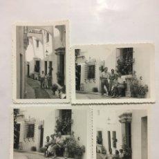 Fotografía antigua: FOTOS. PUEBLO ESPAÑOL. BARCELONA. FOTÓGRAFO?.. Lote 194491243