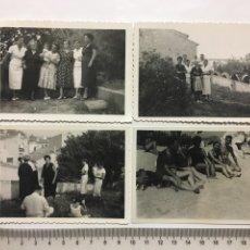 Fotografía antigua: FOTOS. LLORET DE MAR. FOTÓGRAFO?.. Lote 194491417