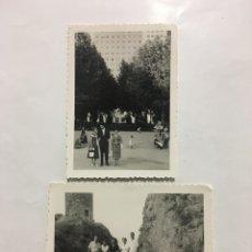 Fotografía antigua: FOTOS. MADRID. TOSSA DE MAR. FOTÓGRAFO?.. Lote 194493283