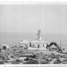 Fotografía antigua: == T461 - FOTOGRAFIA - PAISAJE - FARO 1953. Lote 194526360