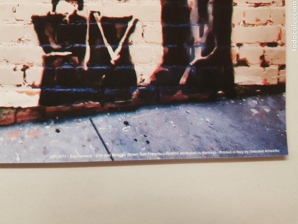 Fotografía antigua: GRAFFITI TRIBUTO A BANKSY EN SAN FRANCISCO. LITOGRAFÍA COLOR ORIGINAL CON MATRICULA LEGAL DEL EDITOR - Foto 2 - 194532625