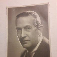 Fotografía antigua: FOTOGRAFIA ORIGINAL ANTIGUA ACTOR LUIS PEÑA. Lote 194539967