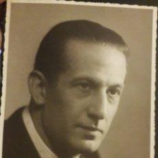 Fotografía antigua: LUIS PEÑA ACTOR ORIGINAL FOTOGRAFIA DE LA EPOCA. Lote 194540065
