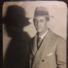 Fotografía antigua: FOTO MASANA BARCELONA ACTOR LUIS PEÑA ORIGINAL FOTOGRAFIA. Lote 194540620