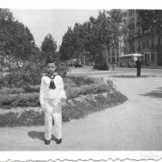 Fotografía antigua: == V193 - FOTOGRAFIA - JOVENCITO DE PRIMERA COMUNION - 1958. Lote 194544525