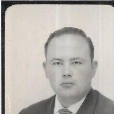Fotografía antigua: == FP532 - FOTOGRAFIA PEQUEÑO FORMATO - SEÑOR - 5 X 4 CM.. Lote 194545082