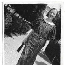 Fotografia antica: FOTOGRAFIA ANTIGUA - UNA DAMA - FOTO - - - - -. Lote 194561687