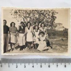 Fotografía antigua: FOTO. GRUPO DE COCINERAS Y COCINEROS. FOTÓGRAFO?.. Lote 194571507