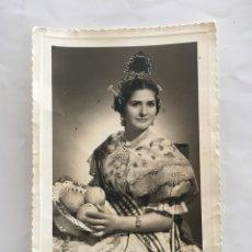 Fotografía antigua: FOTO. MUJER VALENCIANA. FOTÓGRAFO...., VALENCIA-CABAÑAL.. Lote 194572236