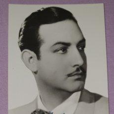 Fotografía antigua: ANTIGUA FOTO POSTAL DE JORGE NEGRETE POSTAL BEA N° 641 P.E.P. MADRID. Lote 194604007