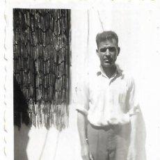 Fotografía antigua: == FP60 - FOTOGRAFIA PEQUEÑO FORMATO - JOVEN - 6 X 4,5 CM.. Lote 194628695