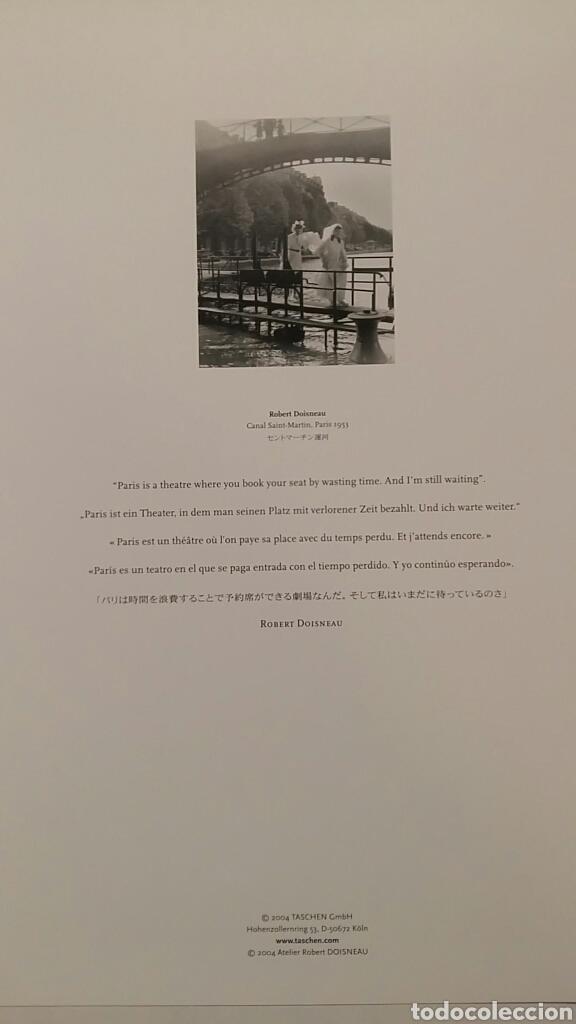 Fotografía antigua: ROBERT DOISNEAU: CANAL SAINT-MARTIN. PARIS 1953. FOTOGRAFÍA LITOGRAFICA ORIGINAL CON MATRÍCULA LEGAL - Foto 2 - 194636583