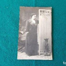 Fotografía antigua: FOTOGRAFIA TARJETA POSTAL - FOTOGRAFO F. DE BAÑOS - BARCELONA. Lote 194641293