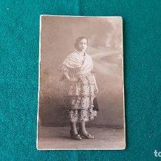 Fotografía antigua: FOTOGRAFIA TARJETA POSTAL YRUELA - MADRID. Lote 194641480