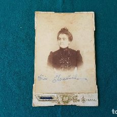 Fotografía antigua: FOTOGRAFIA MANUEL REY - MALAGA. Lote 194641633