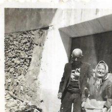 Fotografía antigua: == FP787 - FOTOGRAFIA PEQUEÑO FORMATO - ANVIANA PAREJA - 6,2 X 4,5 CM.. Lote 194649192