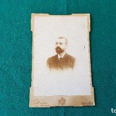Fotografía antigua: FOTOGRAFIA DE E. BUENO (ALBACETE). Lote 194650430