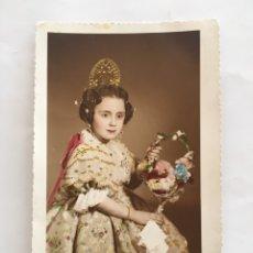 Fotografía antigua: FOTO. NIÑA DE VALENCIANA. FOTO GUIRAU. VALENCIA.. Lote 194661518