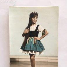 Fotografía antigua: FOTO. JOVEN Y GUAPA BAILARINA. FOTÓGRAFO?.. Lote 194661690