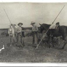 Fotografía antigua: EXTRAORDINARIA FOTOGRAFIA ANTIGUA- DE ROSARIO LA CORTIJERA GANADEROS . Lote 194753888