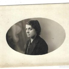 Fotografía antigua: FOTOGRAFIA ANTIGUA - UNA DAMA - FOTO LUQUE - RELATORES, 15 - MADRID. Lote 194777405