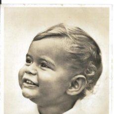 Fotografía antigua: FOTOGRAFIA ANTIGUA - UN NIÑO - FOTO - POK ECHTE. Lote 194781172