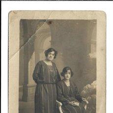 Fotografía antigua: FOTOGRAFIA ANTIGUA DE - DOS HERMANAS - FOTO - - - - . Lote 194877517