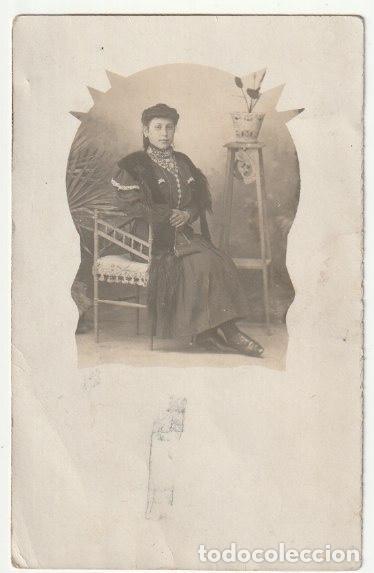 FOLLETO SEÑORA ESCRITA SALUDA A NIÑOS COLEGIO QUIZAS SEA UNA MAESTRA DE ESCUELA EN 1910 - -R-5 (Fotografía - Artística)