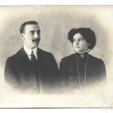 Fotografía antigua: FOTOGRAFIA ANTIGUA DE - UN MATRIMONIO -. Lote 194885983