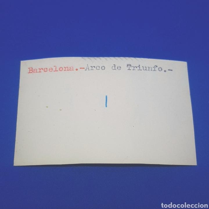 Fotografía antigua: (ER.02) ANTIGUA FOTOGRAFÍA. BARCELONA. ARCO DE TRIUNFO - Foto 2 - 194890850