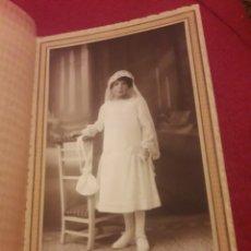 Fotografía antigua: ANTIGUA FOTOGRAFÍA DE ESTUDIO, CALLE PHOTO HUELVA. Lote 194905351