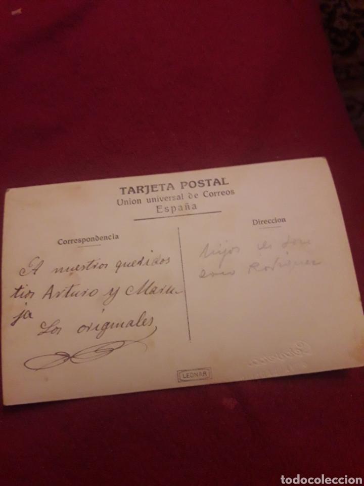 Fotografía antigua: Antigua postal fotografíca de estudio, Cervera, Valladolid - Foto 2 - 194905547