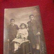 Fotografía antigua: ANTIGUA POSTAL FOTOGRAFÍCA DE ESTUDIO, CERVERA, VALLADOLID. Lote 194905547