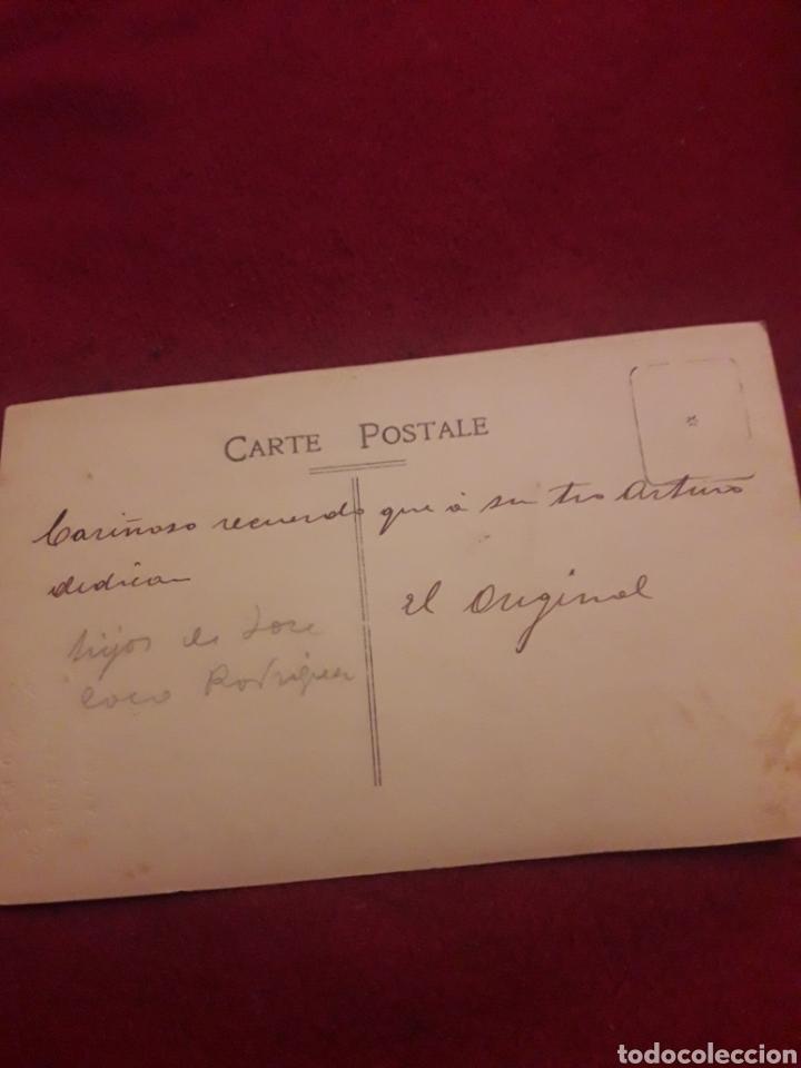 Fotografía antigua: Antigua postal fotografíca de estudio, Montes, Segovia - Foto 3 - 194905867