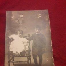 Fotografía antigua: ANTIGUA POSTAL FOTOGRAFÍCA DE ESTUDIO, MONTES, SEGOVIA. Lote 194905867