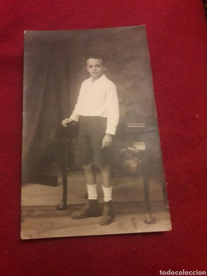 ANTIGUA POSTAL FOTOGRAFÍCA DE ESTUDIO Y1923 (Fotografía - Artística)