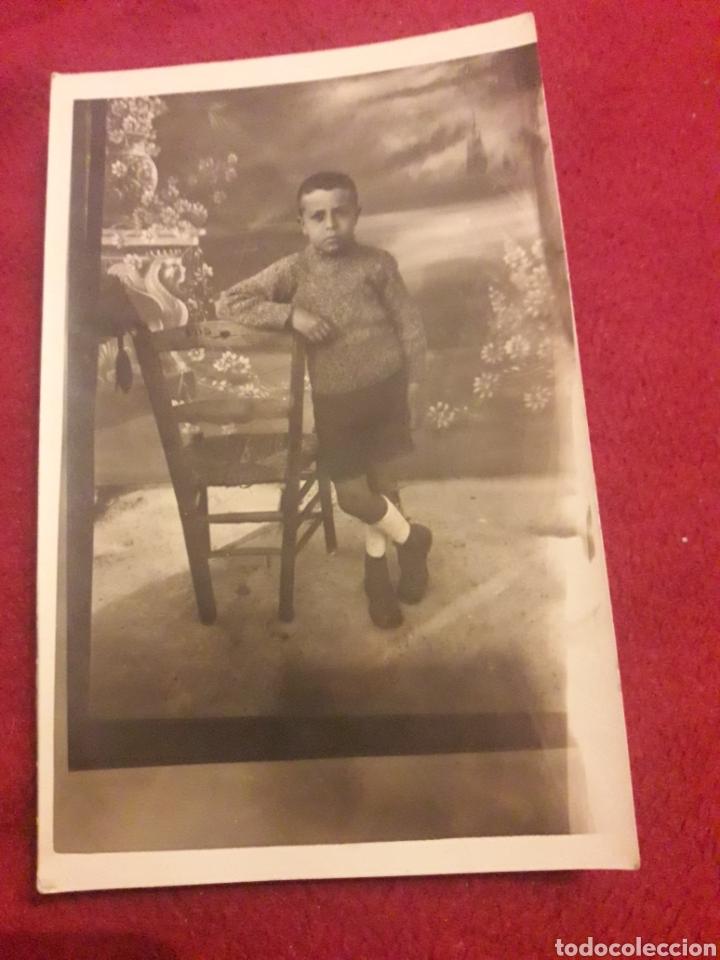 ANTIGUA POSTAL FOTOGRAFÍCA DE ESTUDIO, PRINCIPIOS DEL 1900 (Fotografía - Artística)