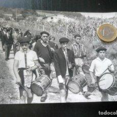 Fotografía antigua: FOTO FIESTA ROMERÍA TXISTU BIZKAIA VIZCAYA FOTO MARTÍN BILBAO 1966. Lote 194927892