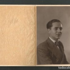 Fotografía antigua: ANTIGUA FOTOGRAFIA - RETRATO - FOTO BERINGOLA - MADRID. Lote 194969151