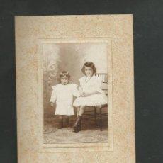 Fotografía antigua: ANTIGUA FOTOGRAFIA RETRATO NIÑAS. Lote 194969263