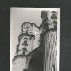 Fotografía antigua: ANTIGUA FOTOGRAFIA CATEDRAL DE MALAGA. Lote 194978821