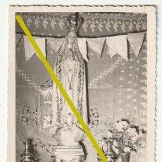 Fotografía antigua: FOTOGRAFIA VIRGEN INMACULADA FOTO PONS CASTELLON - D-26. Lote 194996458