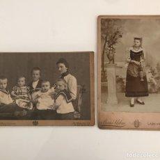 Fotografía antigua: FOTOS FINALES XIX Y PRINCIPIOS DEL XX. Lote 195011220