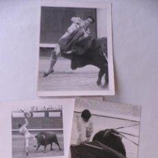 Fotografía antigua: F0T0S TOREROS (3). Lote 195016473
