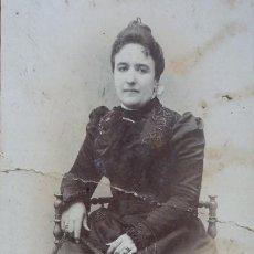 Fotografía antigua: RETRATO DE ESTUDIO, E. BEAUCHY, SEVILLA, C/ RIOJA 22, AÑOS 20. Lote 195026560