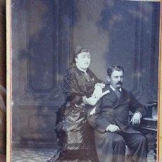 Fotografía antigua: FOTO DE ESTUDIO LEANDRO, SANTANDER. Lote 195026881
