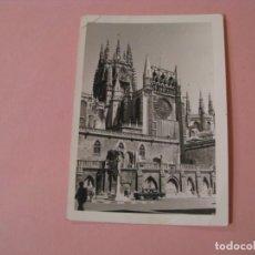Fotografía antigua: FOTO DE CATEDRAL DE BURGOS. AÑOS 60, 70. 10X7 CM. . Lote 195051545