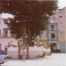 Fotografía antigua: == GG384 - FOTOGRAFIA - SEÑORA EN UN BONITO PAISAJE. Lote 195063902