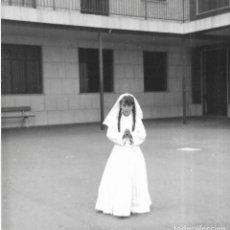 Fotografía antigua: == GG395 - FOTOGRAFIA - JOVENCITA DE PRIMERA COMUNION. Lote 195094710