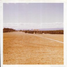 Fotografía antigua: == GG400 - FOTOGRAFIA - CAMPAMENTO MILITAR. Lote 195094937